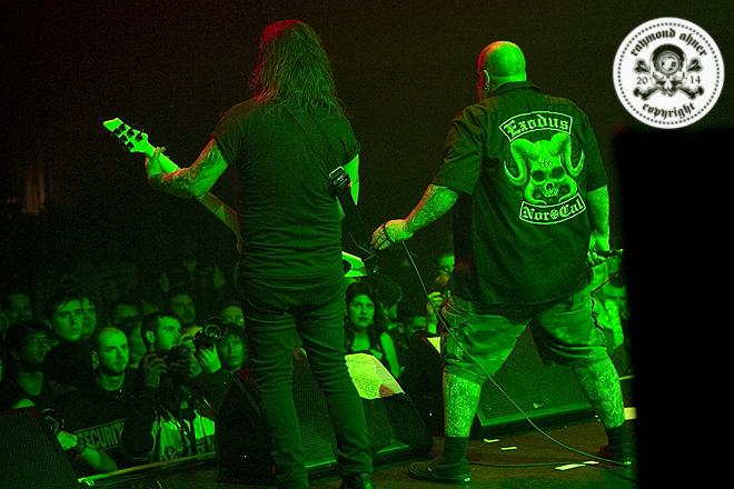 Exodus - Kirk Von Hammett Fear FestEvil  / 2014