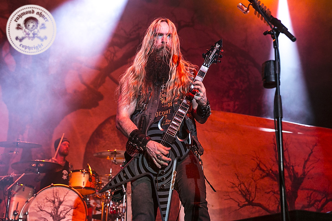 2016 - Zakk Wylde at the Regency Ballroom in San Francisco