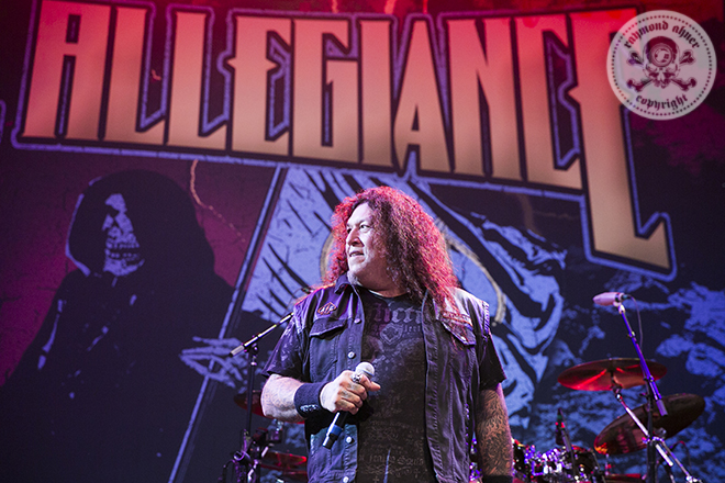 2017 - Metal Allegiance at the City National Grove in Anaheim